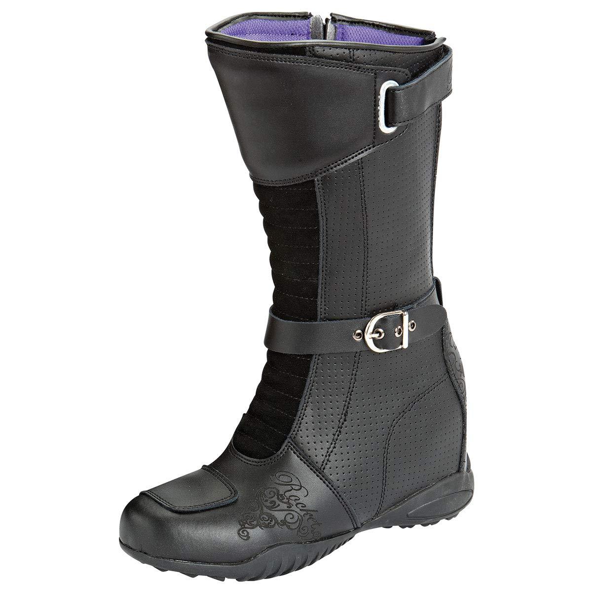1357-3008 Joe Rocket Heartbreaker Womens Boots Black, Size 8