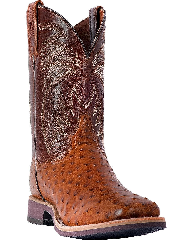 58d7da3dedf Amazon.com | Dan Post Men's Philsgood Full Quill Ostrich Cowboy Boot ...
