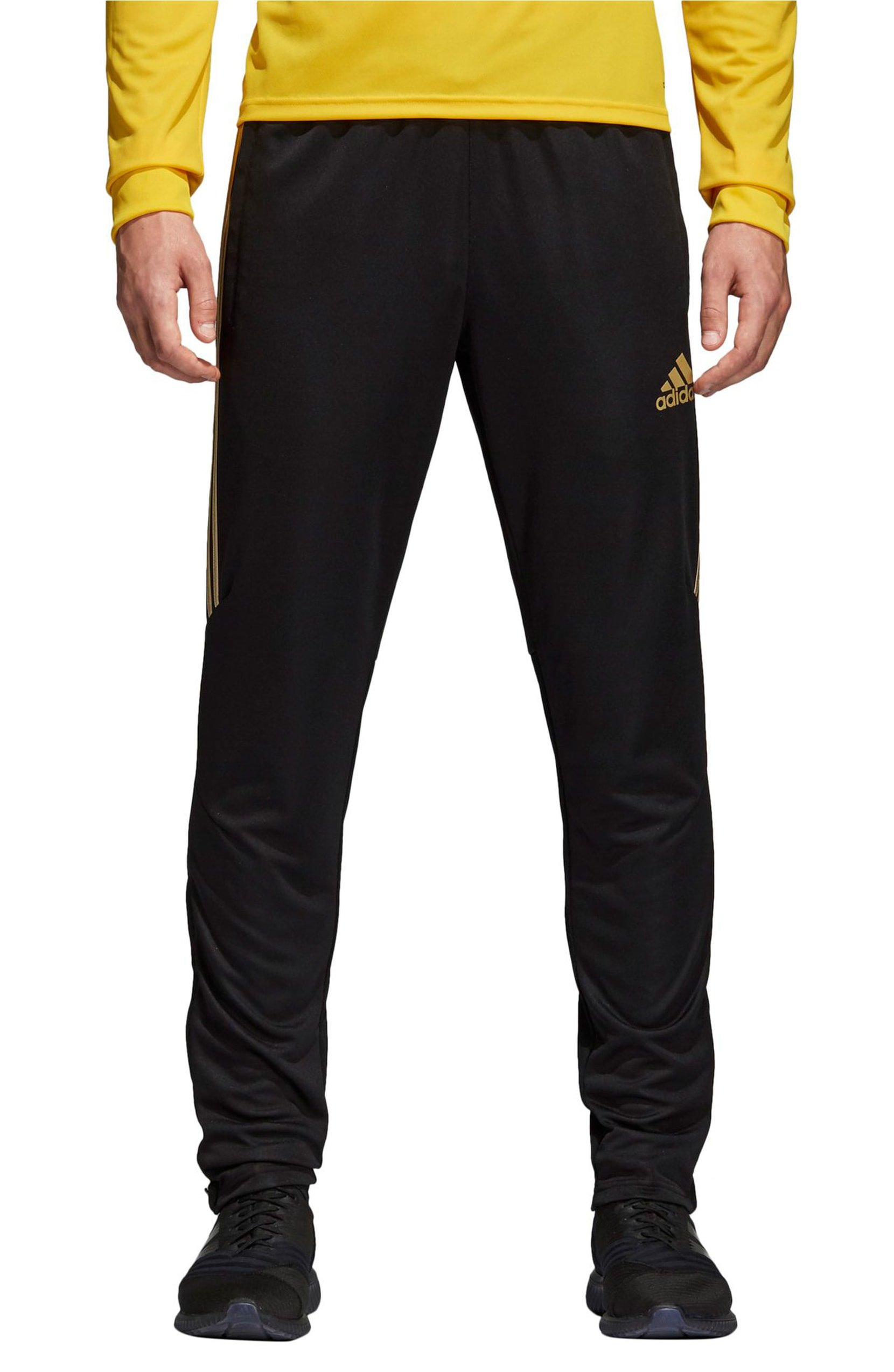 bff61335e Galleon - Adidas Men's Tiro '17 Pants Black/Metallic Gold Medium 31