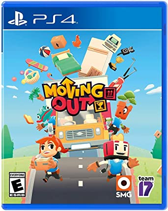 Moving Out PS4 PKG