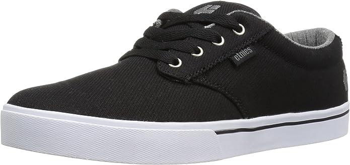 Etnies Jameson 2 Eco Sneakers Skateboardschuhe Schwarz/Grau/Weiß
