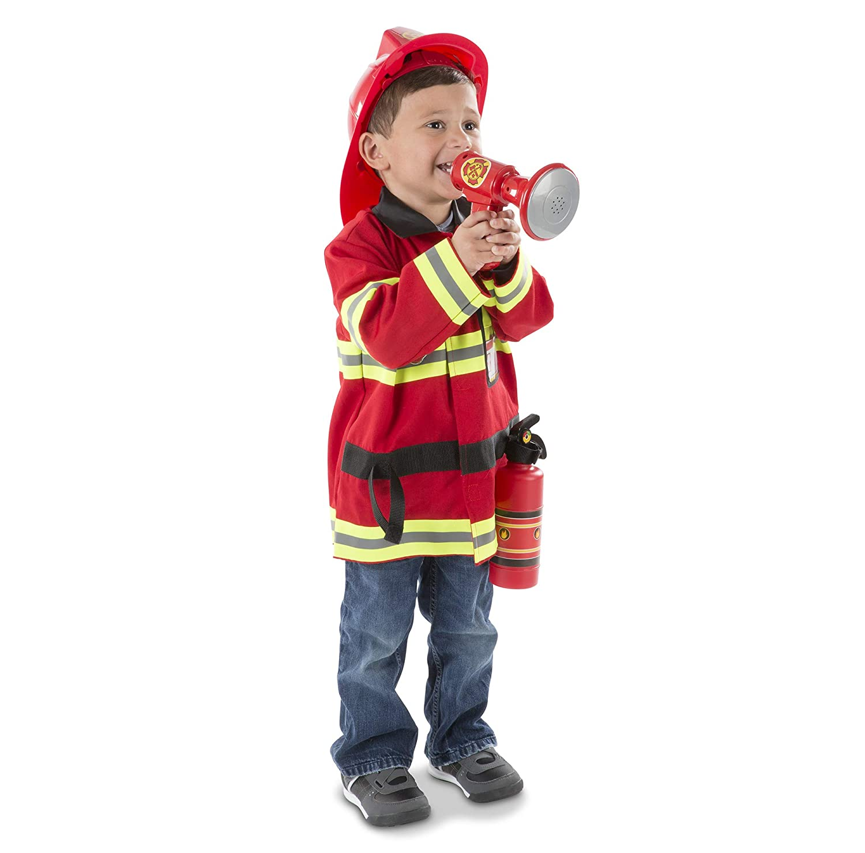 disfraz de bombero de Melissa & Doug