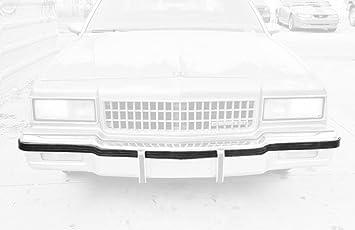 New Front Bumper Filler Retainer Primered GM1087230 For Chevrolet Caprice 86-90