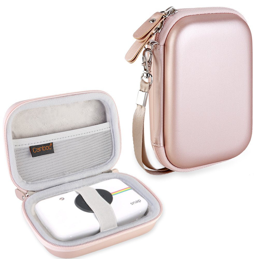 Funda Para Polaroid Snap Y Touch Instant Print (rose Gold)