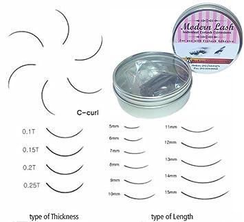 Modern Lash EyeLash Extensions C