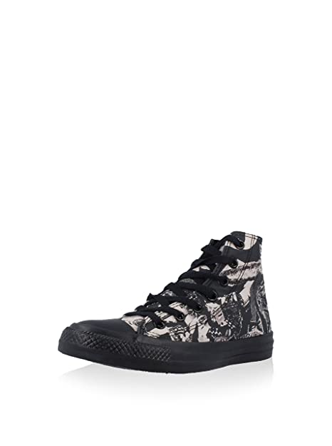 Converse Women s Chuck Taylor All Star Print, BLACK BEIGE, 5.5 US ... 63faddd8aa