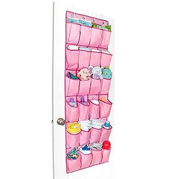 peitrade 24 taschen door hanging schuh organizer closet halt stauraum uber der tur schuh taschen