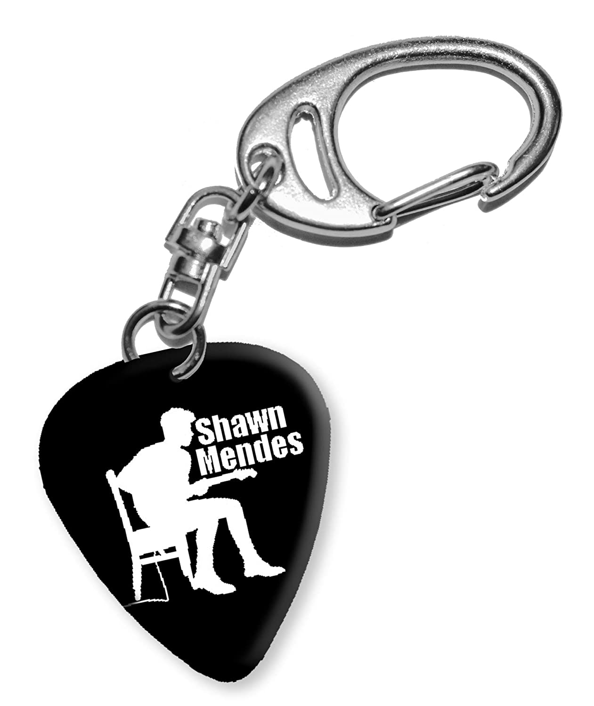 Shawn Mendes Design 3 Gitarre Plektrum Keyring Schlü sselanhä nger BWEG We Love Guitars