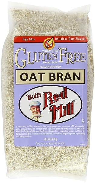Bobs Red Mill Gluten Salvado De Avena Libre (400g) (Paquete de ...
