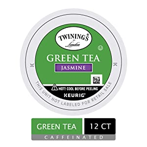 Twinings of London Jasmine Green Tea K-Cups for Keurig, 12 Count