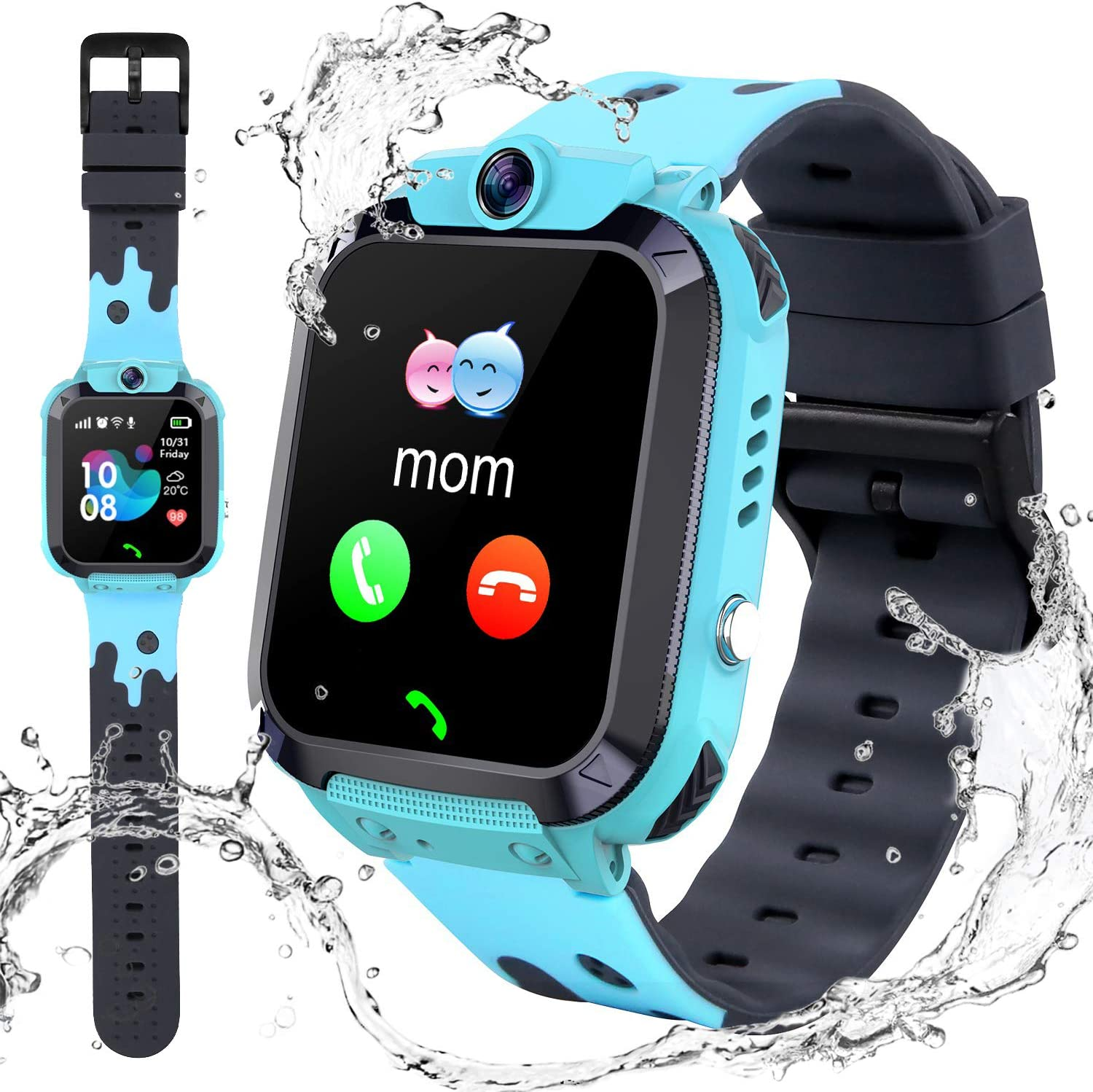 Kids Waterproof Smart Watch Phone - 1.4