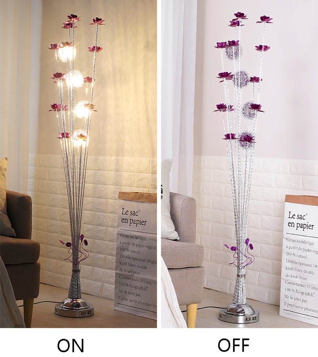 Amazon.com: QYJZI Floor Lamps Floor lamp simple living room ...