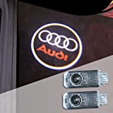 AUDI 高品質 アウディ カーテシ LED レーザーロゴライト / ドアレーザーライト / カーテシライト 配線不要 / 純正交換タイプ