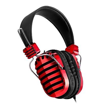Mixcder® Mic 5 Auriculares con Micrófono Incorporado, Cascos de Alta Fidelidad estéreo de 3
