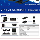 Anksono Vertical Stand with Cooling Fan for PS4