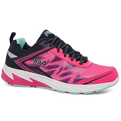 Fila Women's Lazerlite Energized Leather, Mesh, Memory Foam, Rubber Sneakers