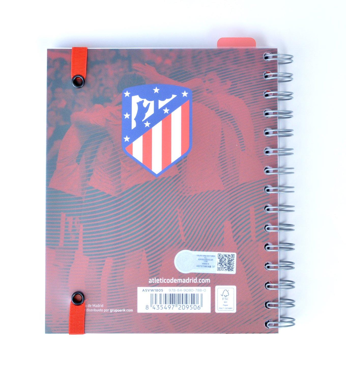 Erik ASVW1805 - Agenda escolar 2018/2019 del Atlético de Madrid