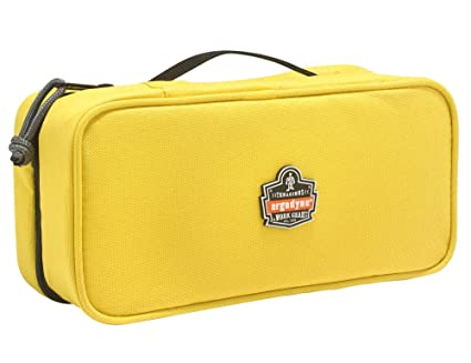 a27919c0b831 Ergodyne Arsenal 5875 Clamshell Organizer Zippered Pouches, Large, Yellow