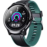 "Smart Watch for Android and iOS Phone, Fitnees Tracker with 1.3"" Full Touch Screen Pedometer Heart Rate Sleep Monitor Tracker"