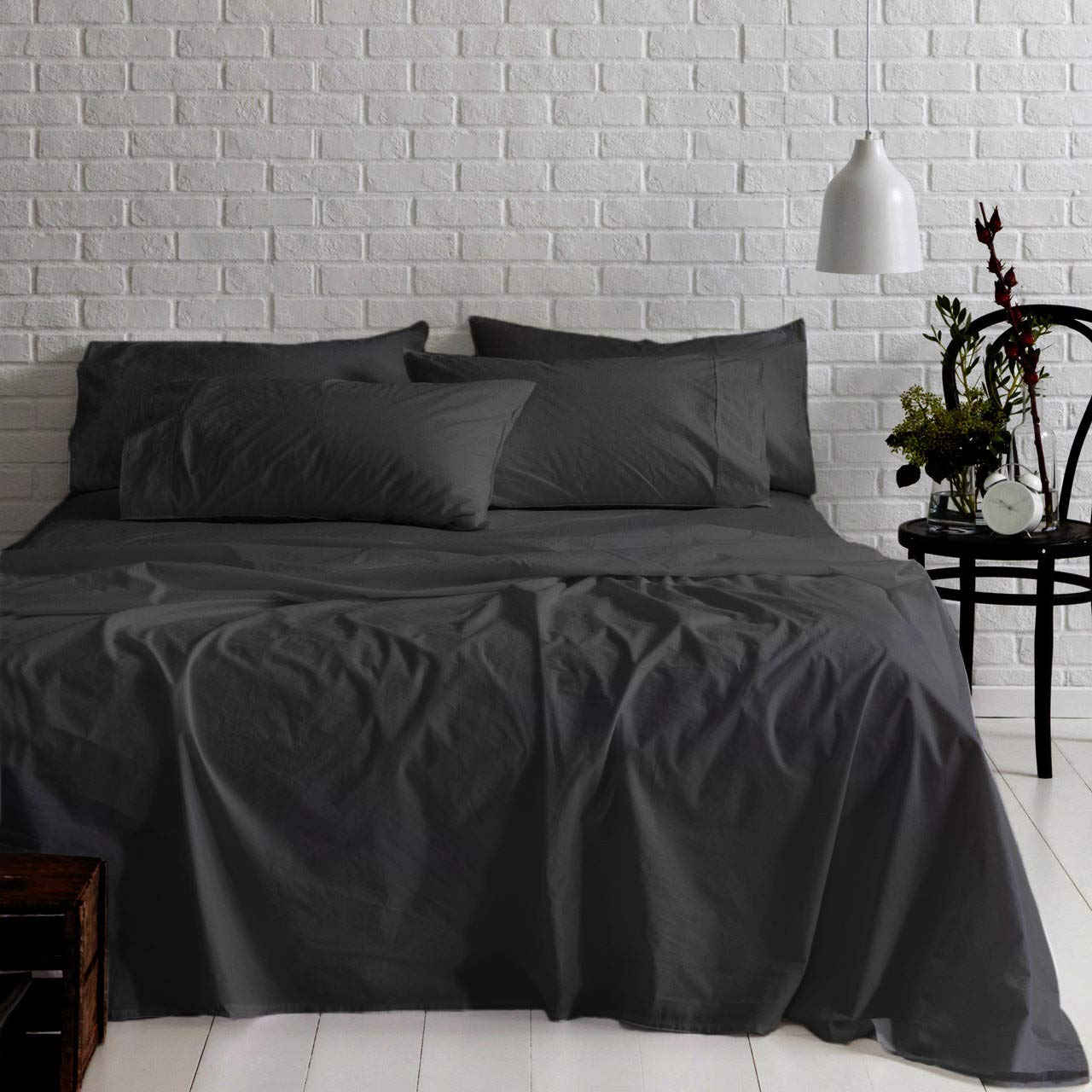 1000 TC Extra Deep Pocket Bed Sheet Set 4 pc QUEEN SIZE 30 Color Egyptian Cotton