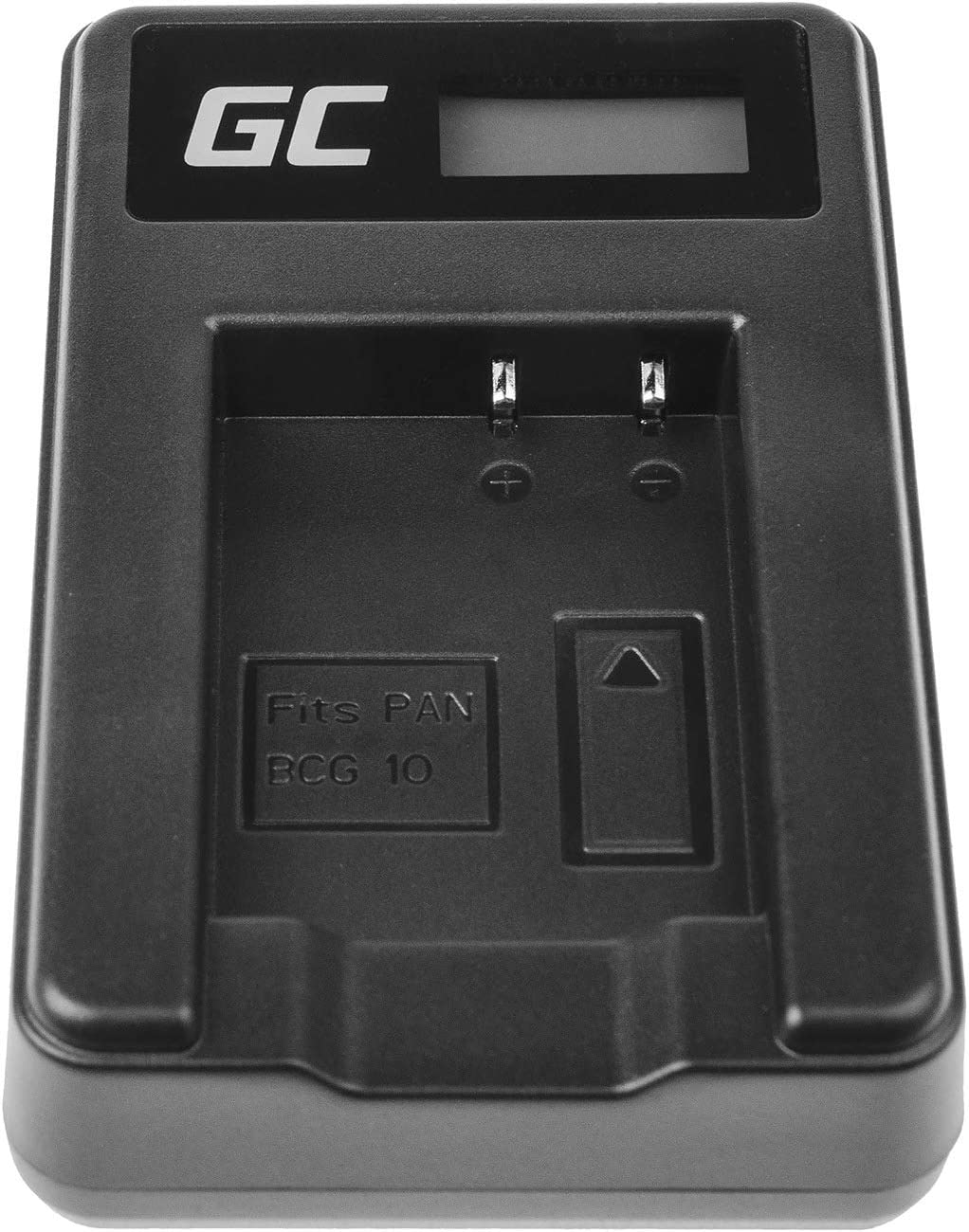 5W 8.4V 0.6A Schwarz Green Cell/® DE-A65BB Ladeger/ät f/ür Panasonic DMW-BCG10 Akku und Lumix DMC-TZ7 TZ8 TZ10 TZ20 TZ25 TZ6 TZ18 TZ29 TZ30 TZ31 TZ36 TZ31 TZ66 ZS1 ZS3 ZS5 ZS10 ZS20 ZR1 ZR3