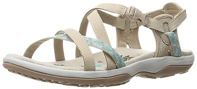 Skechers Reggae slim Beige - Chaussures Sandale Femme