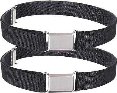 Amazon.com: HOLD'EM Kids Belts for Boys Silver Square Buckle -2 Pack  Black/Black: Clothing