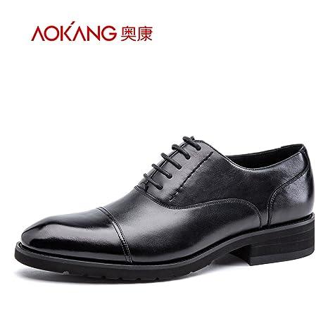 Punta Aemember para hombres Trajes de Vestir Zapatos de ...