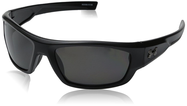 e38dd83e41e Amazon.com  Under Armour Force Storm 8630086-010108 Polarized Rectangular  Sunglasses