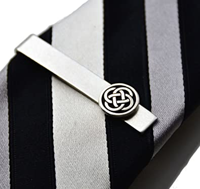 feff51af6995 Image Unavailable. Image not available for. Color: Quality Handcrafts  Guaranteed Celtic Tie Clip