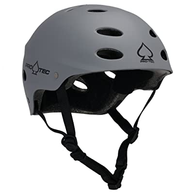 Protec (Cpsc) Ace Sxp (Matte Grey, Small) : Skate And Skateboarding Helmets : Sports & Outdoors