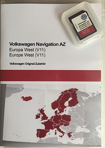 Sd Card Update Vw Navigation Az Europe West V11 Rns 315 Navigation Car Hifi