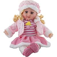 Sky Zone Soft Girl Singing Songs Baby Doll Toy, Medium (Pink)
