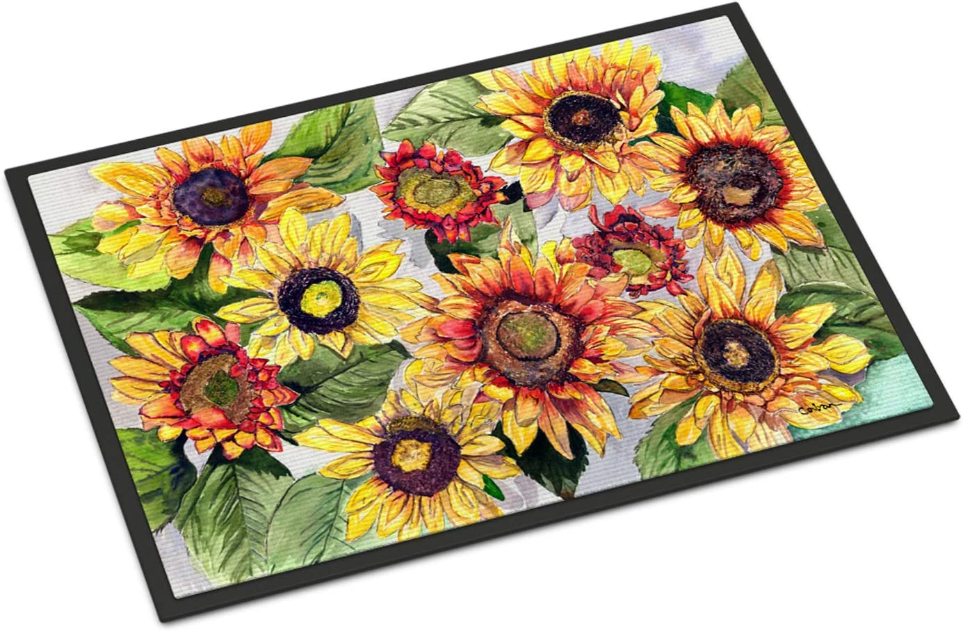 Caroline s Treasures 8766JMAT Sunflowers Indoor or Outdoor Mat 24×36, 24H X 36W, Multicolor