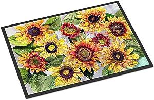 Caroline's Treasures 8766JMAT Sunflowers Indoor or Outdoor Mat 24x36, 24H X 36W, Multicolor