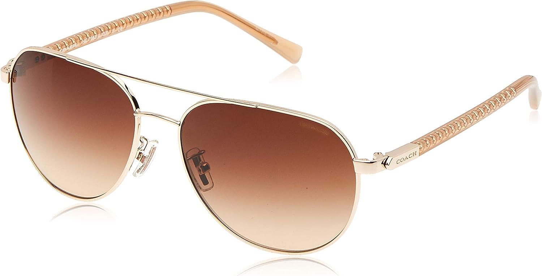 Coach Womens L137 Sunglasses (HC7053) Metal