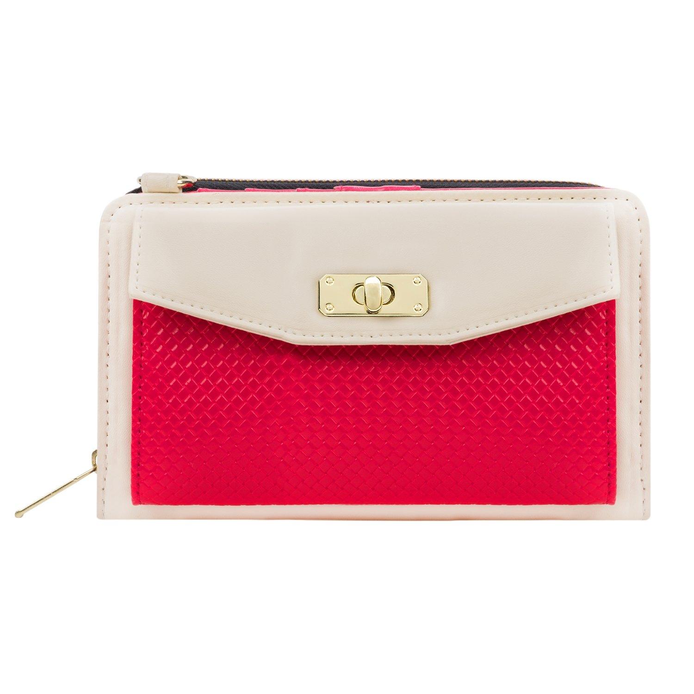 f7ac9ec1748 Evening Clutch Purse Cream/Pink for Sony Phones: Handbags: Amazon.com