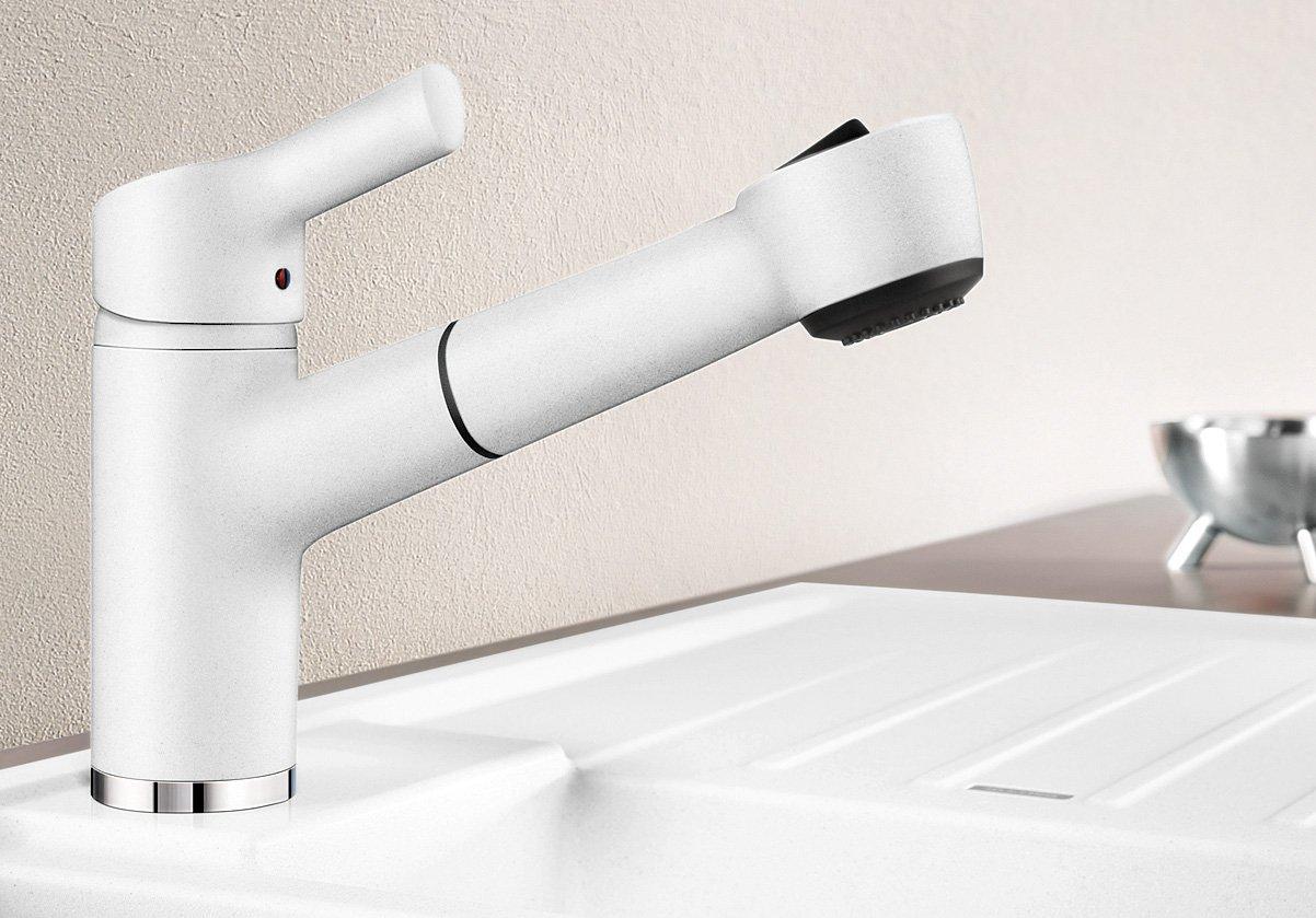 Blanco Elipso-S II Küchenarmatur - Einhebelmischer, mit ausziehbarer ...