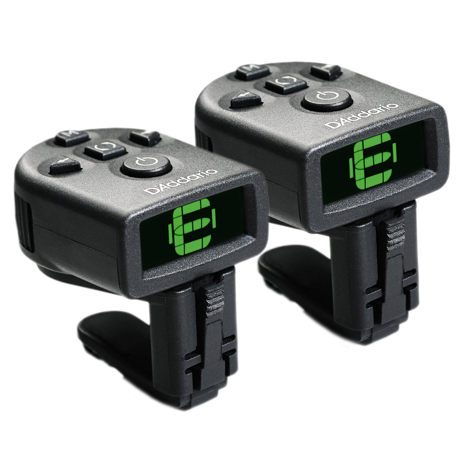 Planet Waves D'Addario NS Micro Clip-On Tuner, 2 pack - Two Pack PW-CT-12TP