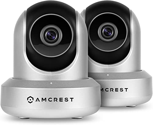 2-Pack Amcrest ProHD 1080P WiFi Wireless IP Security Camera