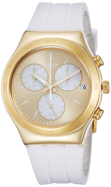 Swatch Soukaina Ladies Silicone Strap Watch Ycg415