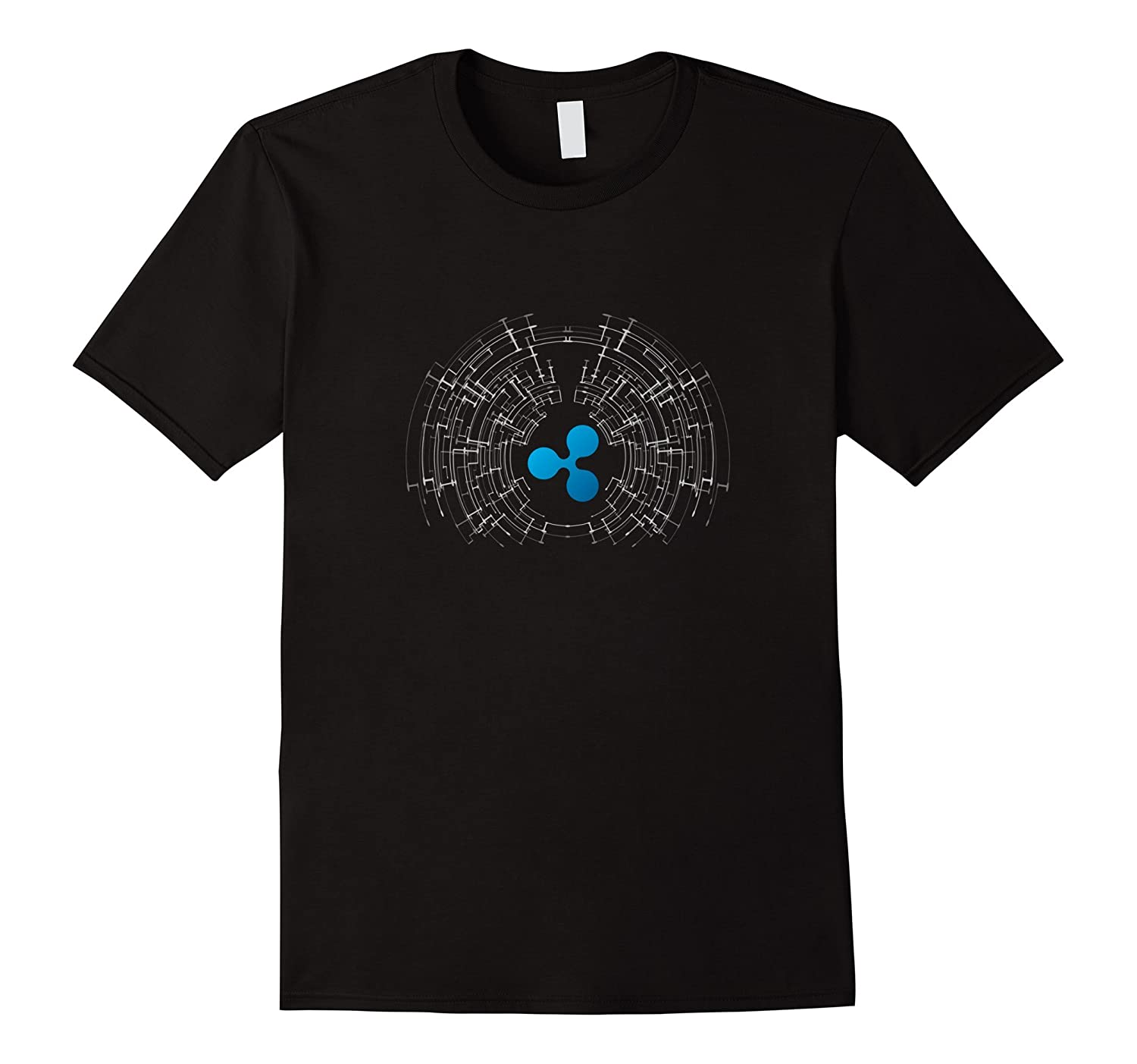 Ripple XRP Logo Crypto Tech T-Shirt-FL