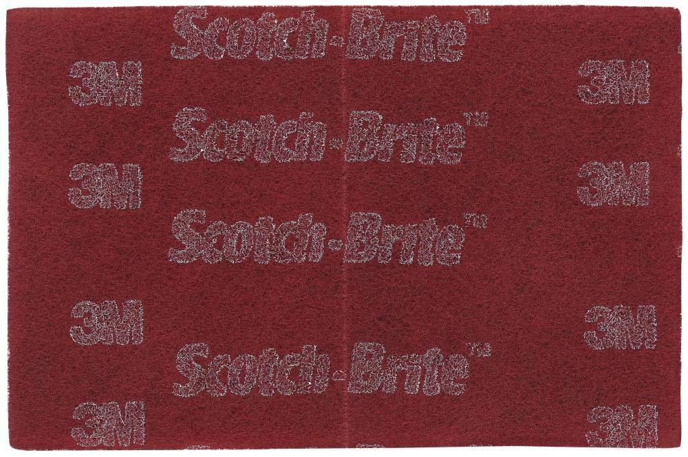 3M Scotch-Brite 7447 Pro Tamponi 200 mm X 230 mm a Vfn Pn 64926 20 Pezzi//Cartone