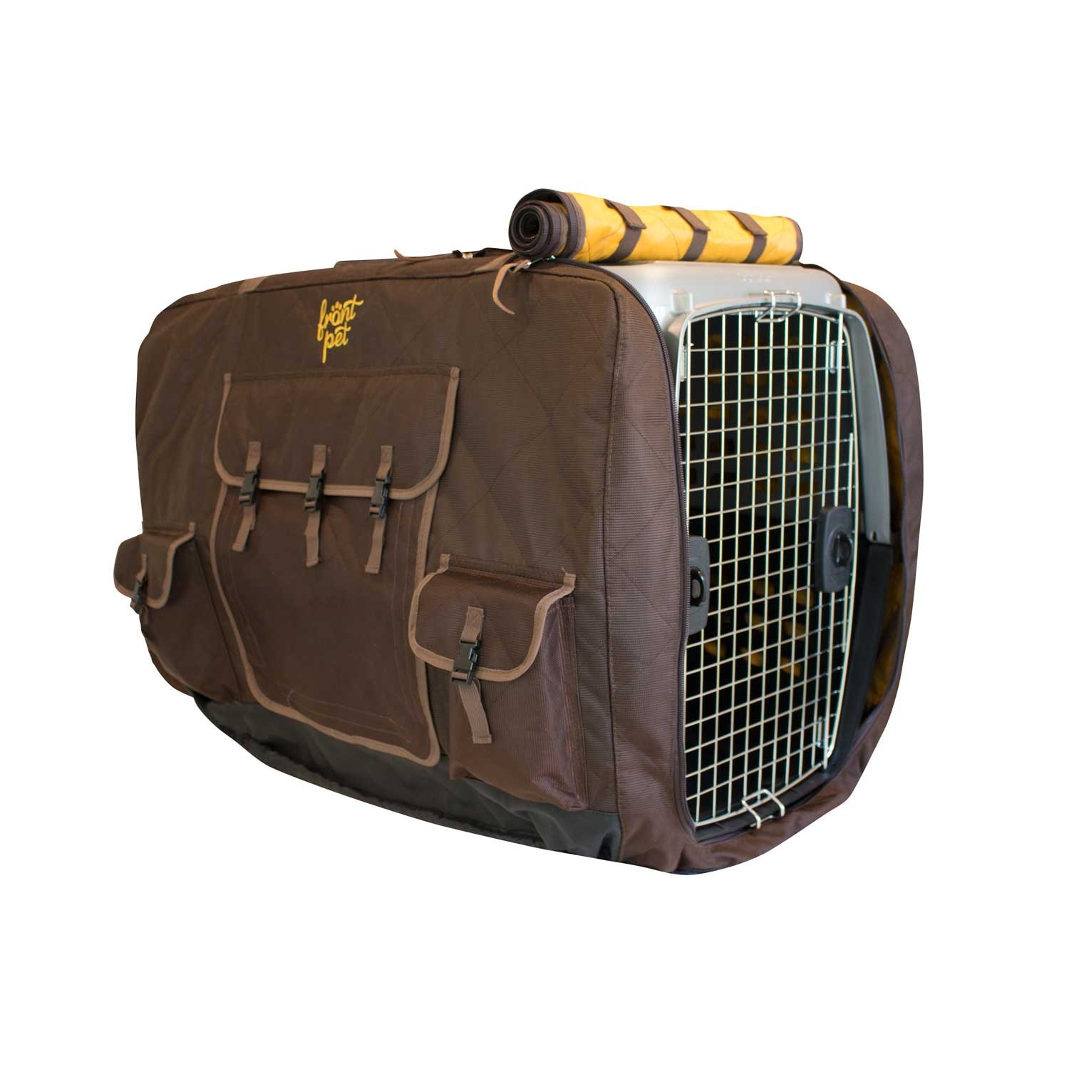 FrontPet Insulated Pet Crate Cover/Crate Cover/Dog Kennel Cover/Kennel Cover/Kennel Jacket