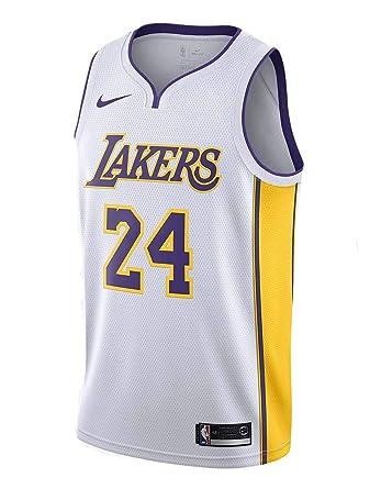 c7f8a01a2 Amazon.com  Nike Men s Lakers Kobe Bryant Swingman Jersey Top  Clothing