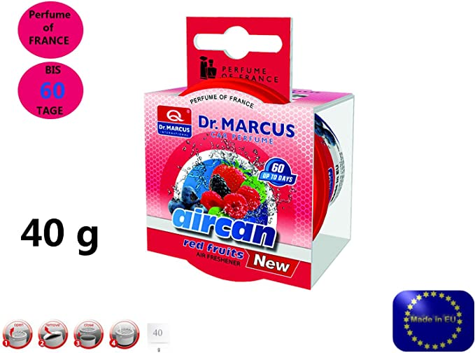 Dr Marcus Aircan Red Fruits Pad Lufterfrischer Autoduft Auto