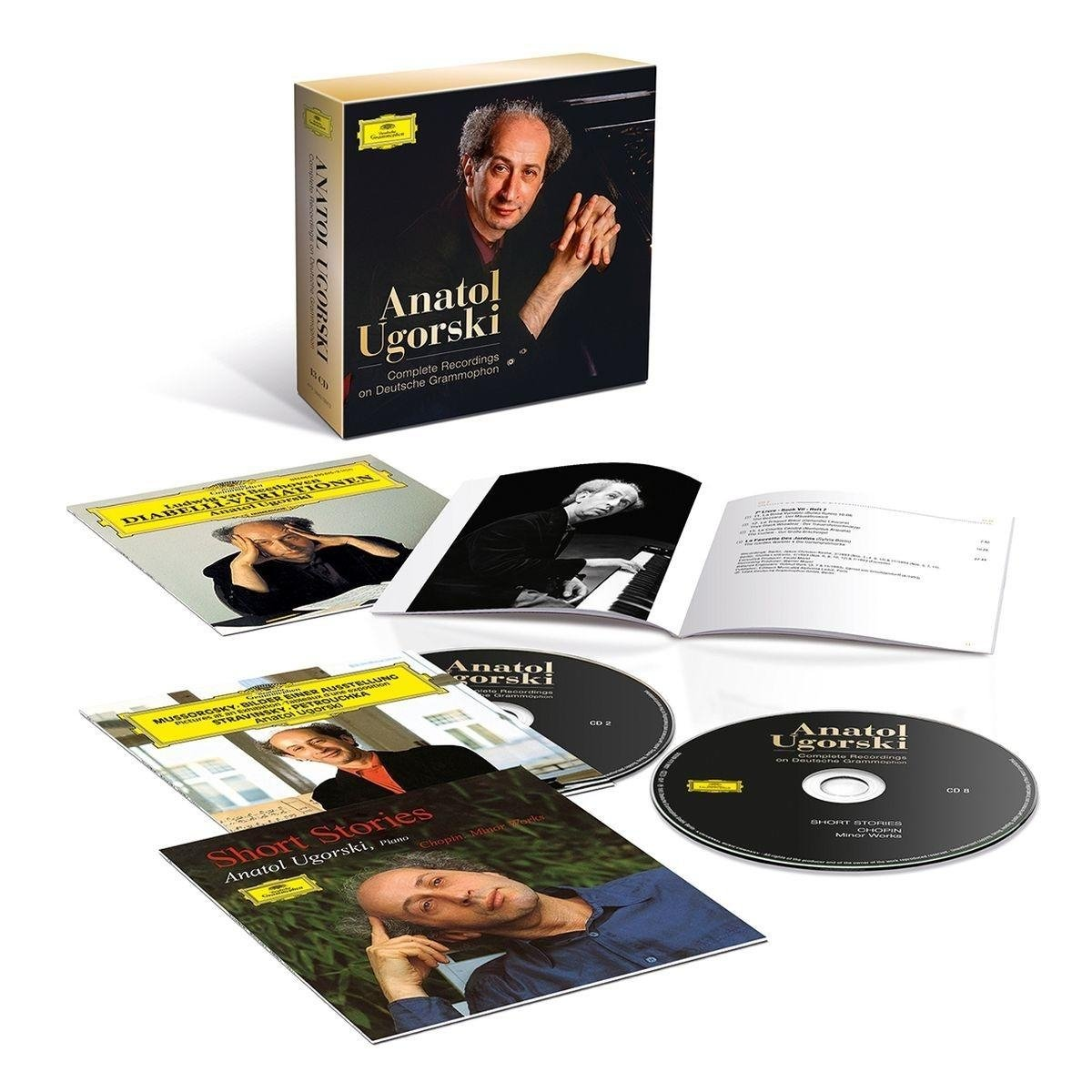 CD : Anatol Ugorski - Complete Recordings On Deutsche Grammophon (Boxed Set, 13PC)