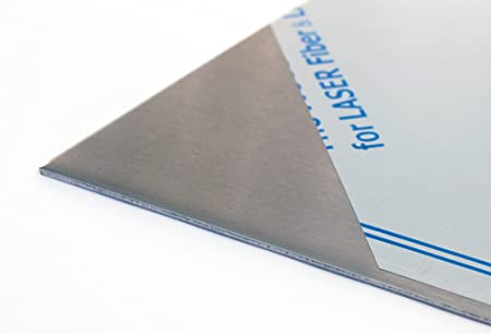 Acciaio INOX L/änge in mm: 200 Breite in mm: 100 2/mm lamiera di acciaio Inossidabile V2/A 1.4301/K240/Rettificato su un lato per display fino a 1000/X1000/mm