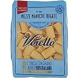 Voiello Pasta Mezze Maniche Rigate Semola di Grano Aureo 100% Italiano, 500 gr
