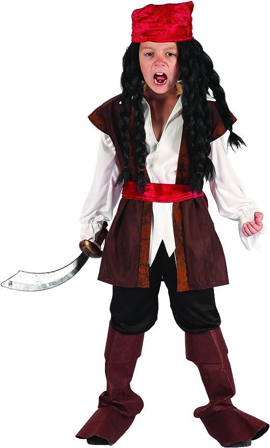 Disfraz de pirata niño - 4 - 6 años: Amazon.es: Juguetes y juegos